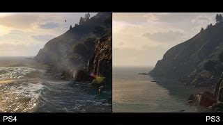 Grand Theft Auto 5/GTA 5 PS4 vs PS3 Trailer Comparison