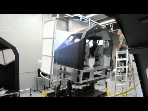 Flightdeck Solutions B737NG Full Motion Flight Simulator (2)