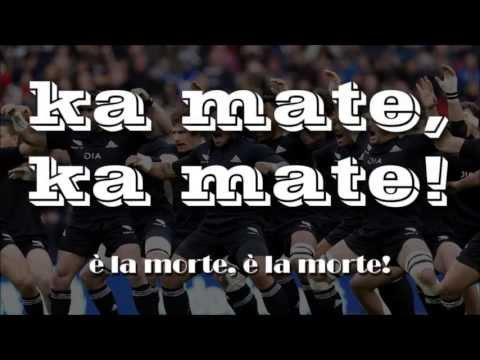 HAKA – KA MATE – testo e traduzione dell'eccezionale danza maori