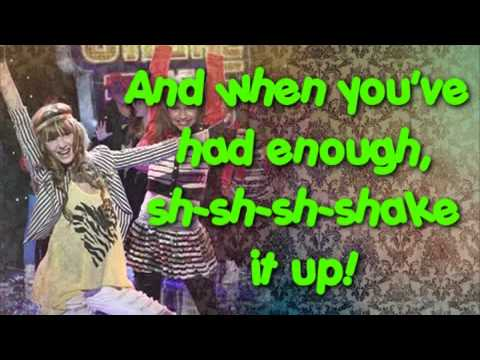 Selena Gomez - Shake it up! Full Theme Song With Lyrics