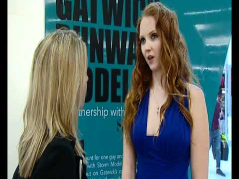 Lily Cole interview on modeling and gives tips