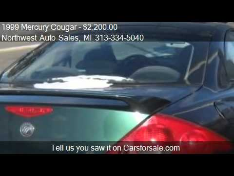 1999 Mercury Cougar V6 for sale in Detroit, MI 48212 at Nort