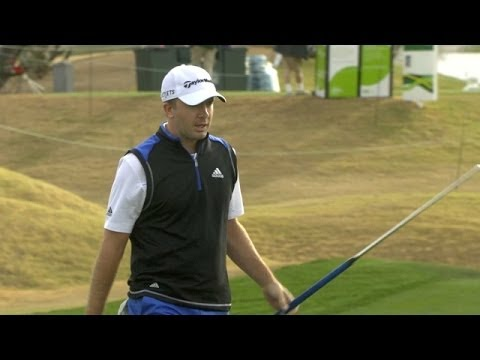 Martin Laird drains 23-foot eagle putt at Waste Management