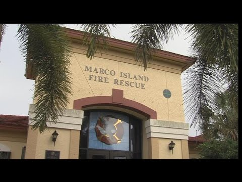 Marco Island firefighters attempt to save choking pig