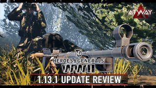 Heroes & Generals. 1.13.1 update review   New At-weapon (eng subtitles)
