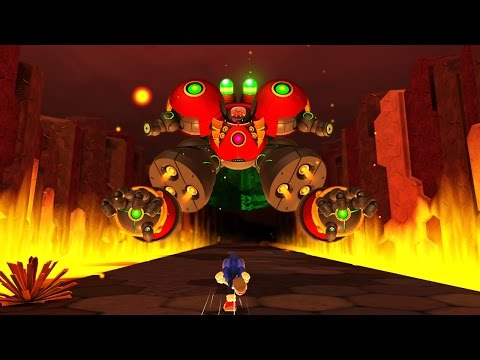 Sonic Lost World (Wii U)  - Final Boss & Ending [HD]