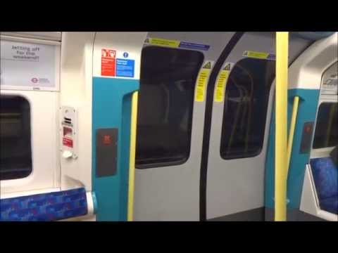 Journey On The Jubilee Line Canary Wharf -Westminster  London Underground