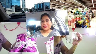Shop with me & Shopping Haul in Telugu   Shoes, Earings, kids clothes   Telugu Vlog