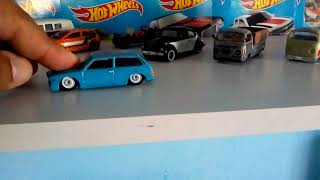 So as melhores miniaturas hot Wheels Volkswagen custom