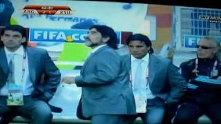 Thumb Video de Maradona y su taquito al balón en el partido de Argentina contra Corea del Sur