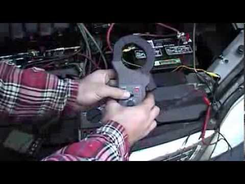Ford PCM controlled alternator testing