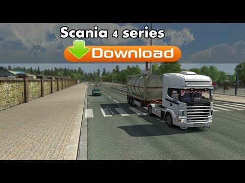 Euro Truck Simulator 2 Mod - Scania 4 Series [Download]