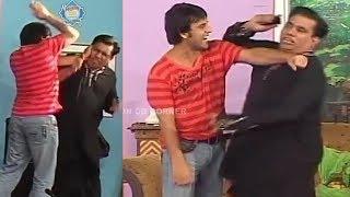Bakhu Oye | Nasir Chinyoti Chaudhry | Ghazal | Naseem Vicky - Comedy Stage Drama Clip