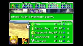 Golden Sun 2:Arena Battles 1 Hacked Psynergy