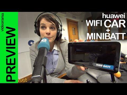 Huawei WiFi Car y MiniBatt PowerBank preview en espa�ol
