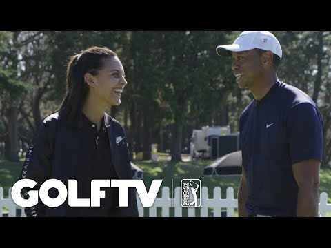 Tiger Woods talks Japan and his recent knee surgery ahead of MGM Resorts The Challenge