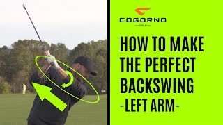GOLF: How To Make The Perfect Backswing - Left Arm