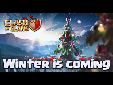 "Lets Play Clash of Clans #115""Winter/Christmas Update 2015+Snow 2015""[HD] GER/DEUTSCH"