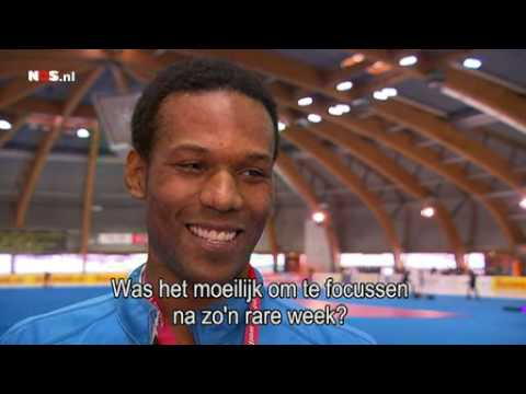 Shani Davis interview after his 25th World Cup Victory  - Erfurt Germany 3-6-2010