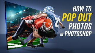 Photoshop: Best Way to Make a 3-D Pop Out Photo Effect