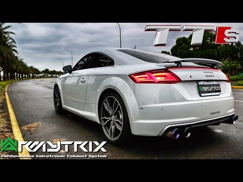 Audi TTS 2017 Sound Test ARMYTRIX Exhaust LOUD! Accelerations & Onboard Drive