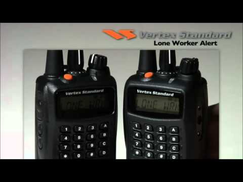 Vertex Standard Demo  Emergency and Lone Worker Alerts HTW