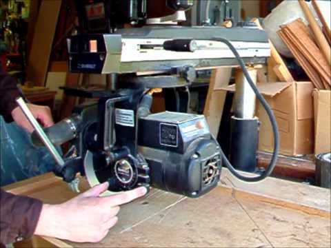 Intro to Radial Arm Saw