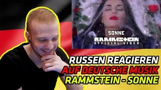 RUSSIANS REACT TO GERMAN CLASSICS | Rammstein - Sonne | REACTION