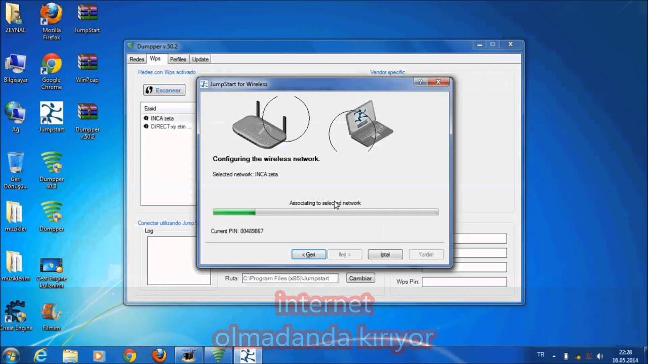 Видео для тех кто не верит что программа для взлома Wi-fi Dumper рабочая.