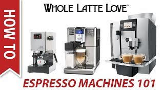 How to Choose the Best Espresso Machine for Beginners 2018