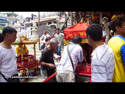 Cheung Chau Bun Festival 2013 - Day 5 Highlights - Return to Temples