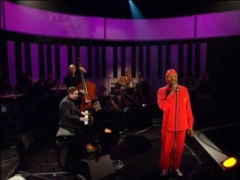Dave Swift on Double bass with Jools Holland backing Jimmy Cliff