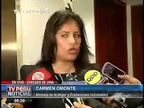 Entrevista a la Ministra de la Mujer sobre convenio con el MP contra la trata de personas