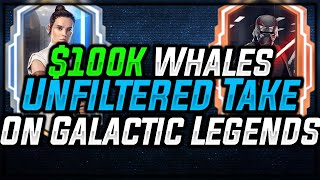 $100K+ Whales Give their UNFILTERED take on Galactic Legends Reqs| Star Wars: Galaxy of Heroes