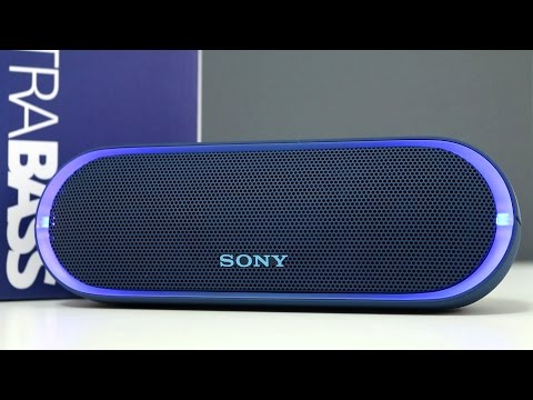 Sony SRS-XB20 Extra Bass Wireless Speaker Review