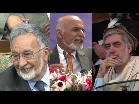 Three big names go down to the wire in Afghan election
