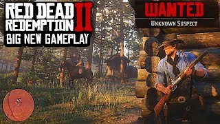 Red Dead Redemption 2 - NEW GAMEPLAY, HEISTS, BOATS, FIRST PERSON & MORE!