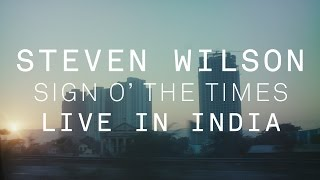 "Steven Wilson - Princeカバー""Sign o' the Times""のshort film (Live in India)を公開 thm Music info Clip"