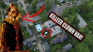 HUNTING KILLER CLOWNS WITH A DRONE! (PART 7)