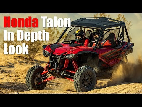 2019 Honda Talon 1000 In Depth First Look Review