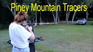 Smith and Wesson M&P 15-22 With Piney mountain tracers