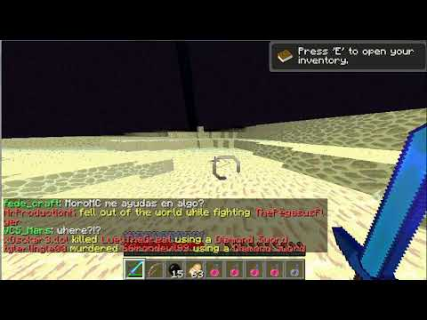 Minecraft PvP- Kohi - AnonVsZeroPvP and AllVsAll