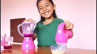 Unboxing Mainan Anak Blender Mixer Wah Bisa Buat Jus Beneran - Kitchen Set Toys for Kids