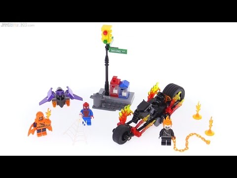 LEGO Spider-Man: Ghost Rider Team-Up review! 76058
