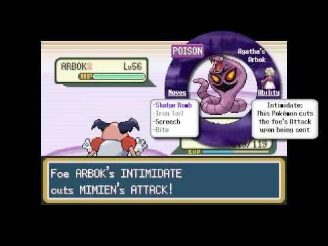 Pokémon FireRed - Part 39 - Bruno & Agatha