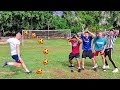 FOOTBALL CHALLENGE Ft. W2S, WillNE, CALFREEZY, ANESONGIB!! WO...