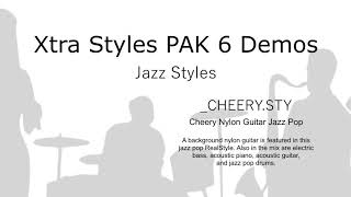 Band-in-a-Box® - Xtra Styles PAK 6 Demos