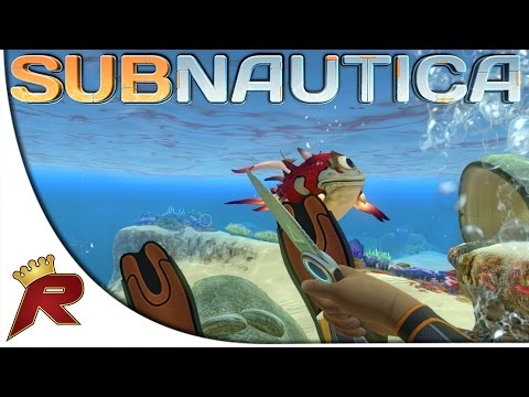 "Subnautica Gameplay - Part 2: ""Cyclops Fish Attack!"" (Early Access)"