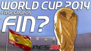 PES 2014 | WORLD CUP BRASIL | FIN - LUCHANDO HASTA EL FINAL