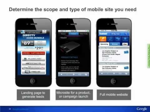 0 Making Mobile Friendly Websites: Best Practices in Action